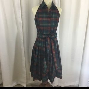 American Living plaid Dress in 16